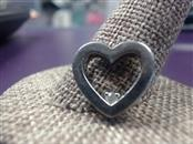Silver-Diamond Pendant .02 CT. 925 Silver 3.17g